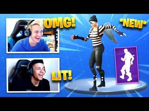 STREAMERS REACT *NEW* POP LOCK EMOTE/DANCE! – Fortnite Funny Fails & WTF Moments #193