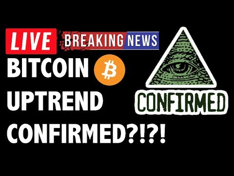 BITCOIN (BTC) & CRYPTO UPTREND CONFIRMED?! CRYPTOCURRENCY TRADING ANALYSIS AND NEWS