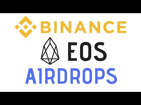 Binance Announces Support For EOS Airdrops