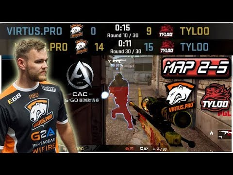 VP Comeback From 0 – 9! Neo Clutch To Save A Match! Virtus.pro Highlights VS Tyloo/Map 2-3