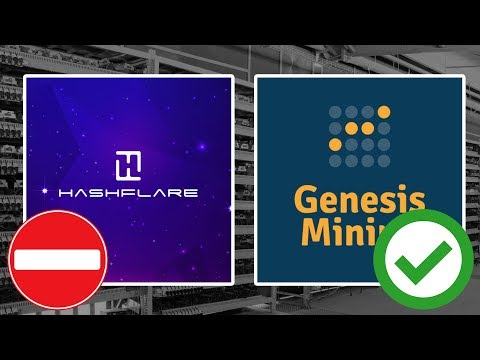 ? HASHFLARE STOPPED PAYING ? Genesis BTC Mining Contracts are back…