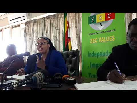 Video:ZEC releases final electronic copy of Zimbabwe's Voter's Roll