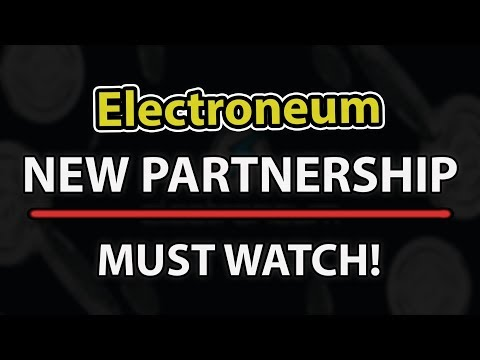 MUST WATCH! NEW Electroneum (ETN) PARTNERSHIP THAT COULD MAKE IT SHINE!