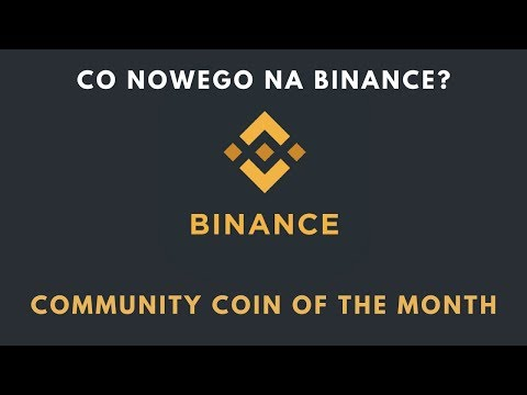 Co nowego na Binance? | 7 edycja Community Coin of Month  | PundiX!