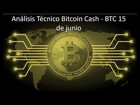 Análisis bitcoin cash/btc 15 de junio – ¿¿Seguirá subiendo el mercado de las criptomonedas??