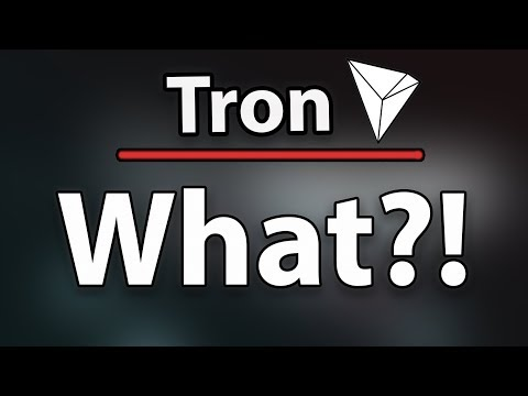 Tron (TRX) What's Going On? Should You Sell Your Tron?!