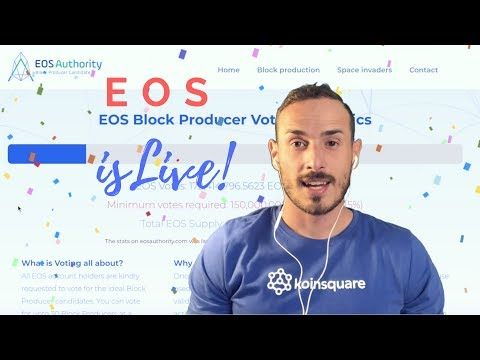 FINALMENTE EOS! Mainnet lanciata. Dapps, Wallets, Exchanges ed Airdrops