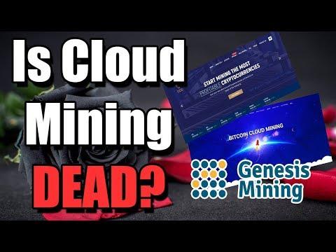 Is Cloud Mining Dead?!   Hashflare | CCG Mining | Genesis Mining