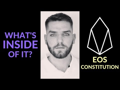 EOS Constitution | What's Inside Of It?