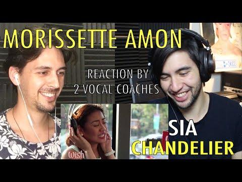 Morissette Amon Covers Chandelier (Sia) Vocal Coach Reaction! By 2 Coaches!