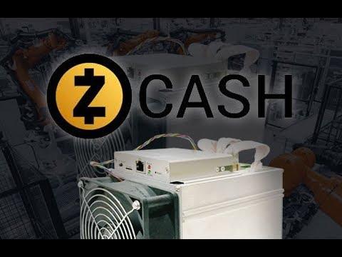 ASIC-майнеры стремительно захватывают сеть ZCash