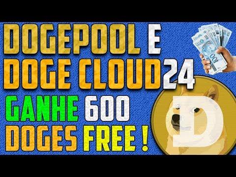 VEJA ! Saquei 54 Reais em Dogecoin na DogeCloud24 e Dogepool + outras mineradoras Dogecoin !