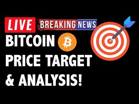 CRYPTO + BITCOIN (BTC) PRICE TARGET & ANALYSIS! CRYPTOCURRENCY NEWS