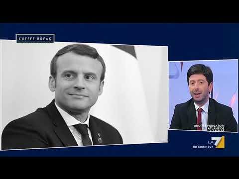 Roberto Speranza (LeU): 'Sia Salvini che Macron sono in campagna elettorale permanente'