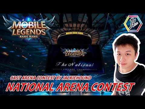 [Live] National Arena CONTEST Indo VS Jamaica cast by JACKIEHOUND – Giveaway ada di deskripsi