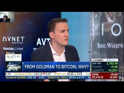 Goldman In Cryptocurrency will foster a Bull Market! | CNBC Fast Money