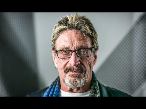 John Mcafee Bitcoin will hit $500 000 if I get elected as POTUS