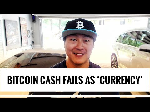Bitcoin Cash is not Being Used as a Currency – Failed as a Transactional Altcoin?