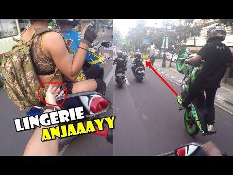 FULL STREET STUNT DI KOTA BANDUNG – ADA YANG PAKE LINGER1E