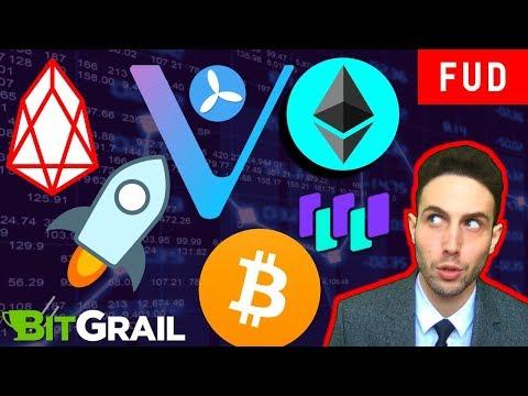 EOS Mainnet HALTED? Ethereum Casper + Sharding, Bitcoin, Stellar Lumens WaltonChain VeChain TE-Food