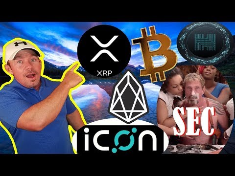 EOS: 20 Billion Air Dropped Coins! – XRP FUD dispelled! – ICON: Critical Bug!
