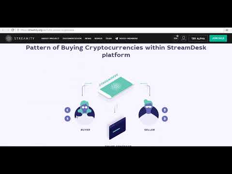 Streamity – Decentralized cryptocurrency exchange