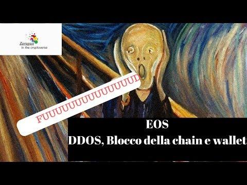 EOS | DDOS, Blocco della chain e wallet