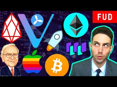 EOS Mainnet Halted? Ethereum Scaling! Te-Food, WaltonChain VeChain XLM Bitcoin & Crypto News!