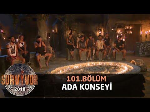 Ada konseyi | 101. Bölüm | Survivor 2018
