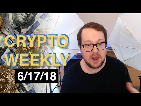 "Crypto Weekly (6/17/18) – Low crypto DAU, ""Alert keys"", EOS launch drama and more Tether scandal!"