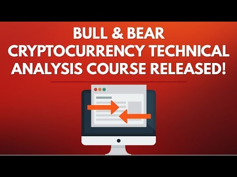 Cryptocurrency Technical Analysis Course Release!