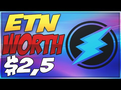 (ETN) WILL ELECTRONEUM HIT $2,5!? – NEW PARTNERSHIPS!