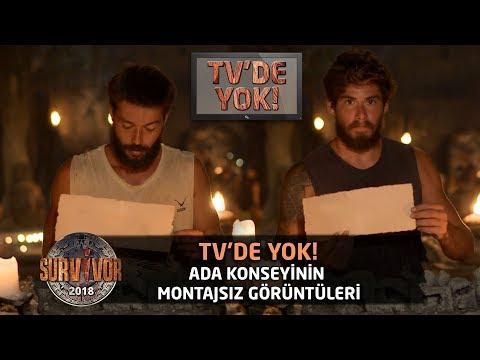 TV'de Yok | Ada konseyinin montajsız görüntüleri | 101.Bölüm | Survivor 2018