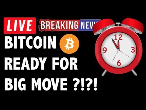 BITCOIN (BTC) + CRYPTO READY FOR BIG MOVE?! CRYPTOCURRENCY ANALYSIS & NEWS