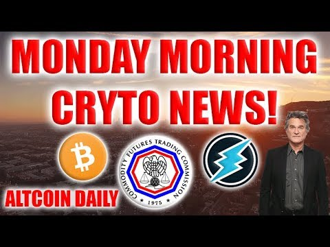 Monday Morning Cryptocurrency News!!!! –CFTC, Kurt Russell, Bitcoin Modern Miracle
