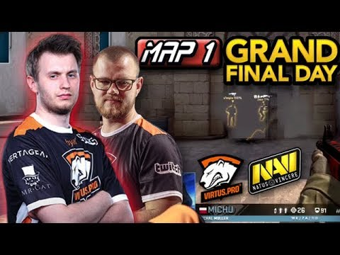 Neo & Byali 2 VS 5 Retake! Michu VAC Shot! Virtus.pro Highlights VS NaVi/Grand Final/Map 1