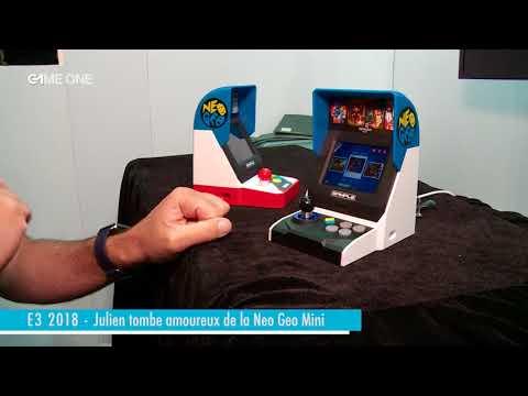 E3 2018 – Julien tombe amoureux de la Neo Geo mini