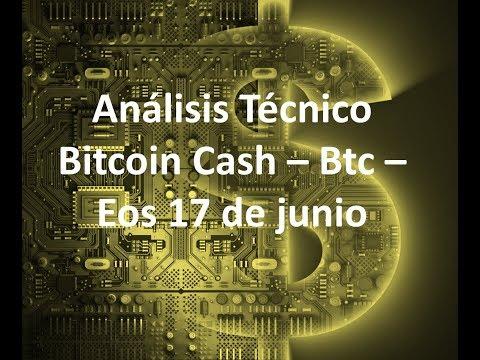 Análisis Bitcoin Cash/Btc/Eos 18 de junio – ¿¿Estamos ante el fin de la tendencia bajista??