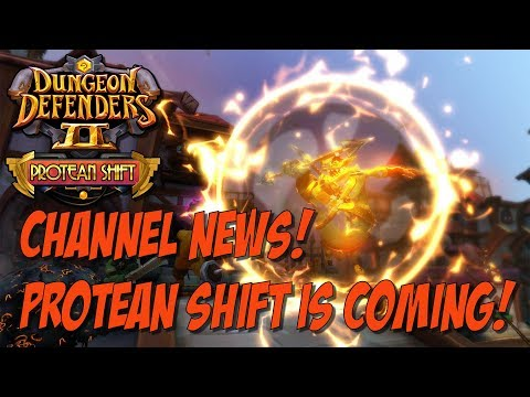 DD2 and Channel News! Making the Protean Shift!