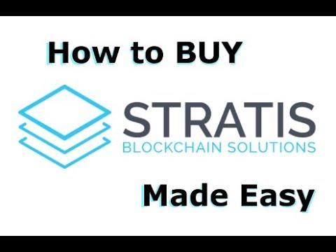 How to buy Stratis – The easiest way to BUY Stratis!
