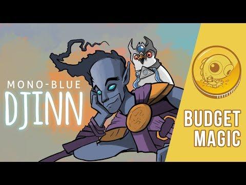 Budget Magic: $89 (29 tix) Mono-Blue Djinn (Modern)