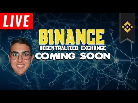 Daily Update (6/18/18) – Binance Decentralized Exchange Coming Soon