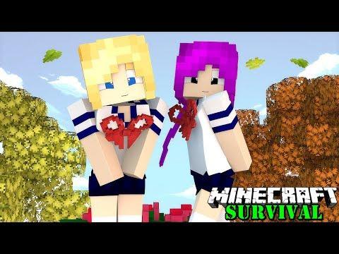 HEBOH ! DESA INI SAMA SEKALI TIDAK ADA COWOKNYA ! Minecraft Survival #51
