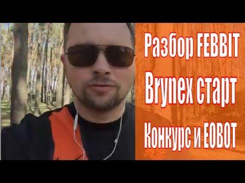 Как заработать сатоши BTC на Febbit Dogecoin для EOBOT с Brynex