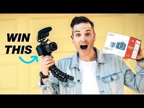 Canon Camera Giveaway 2018 (Canon EOS M50)
