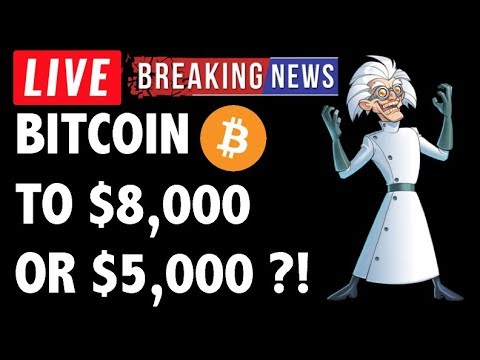 WILL BITCOIN (BTC) GO TO $8K OR $5K?! CRYPTOCURRENCY ANALYSIS & CRYPTO NEWS