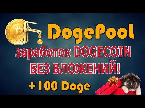 + 100 Doge БЕСПЛАТНО = налетай DogePool