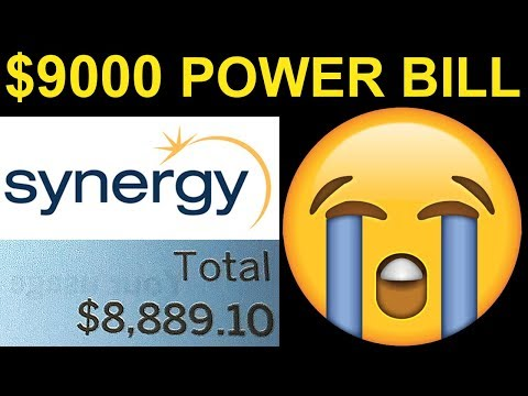 $9000 Power Bill from Bitcoin Mining