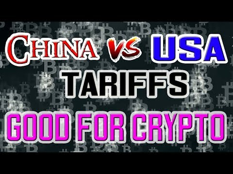 China vs Trump Impacting the Crypto Markets – ADA to $1.00? TRX to $0.25?