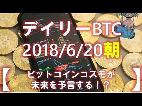 【デイリービットコイン】2018年06月20日朝の短観 BCC(ビットコイン小宇宙)が未来を予言する(´・ω・`)!!